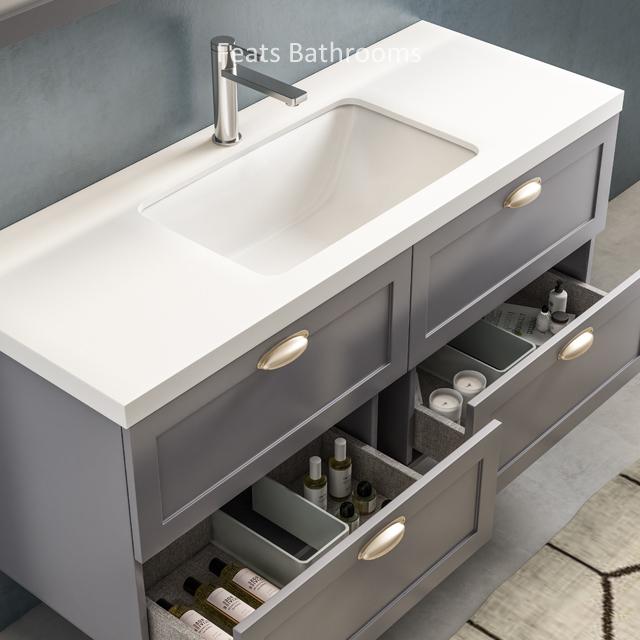 Bathroom Vanities With Stone Counter Top Fs19 1200e 47 Buy